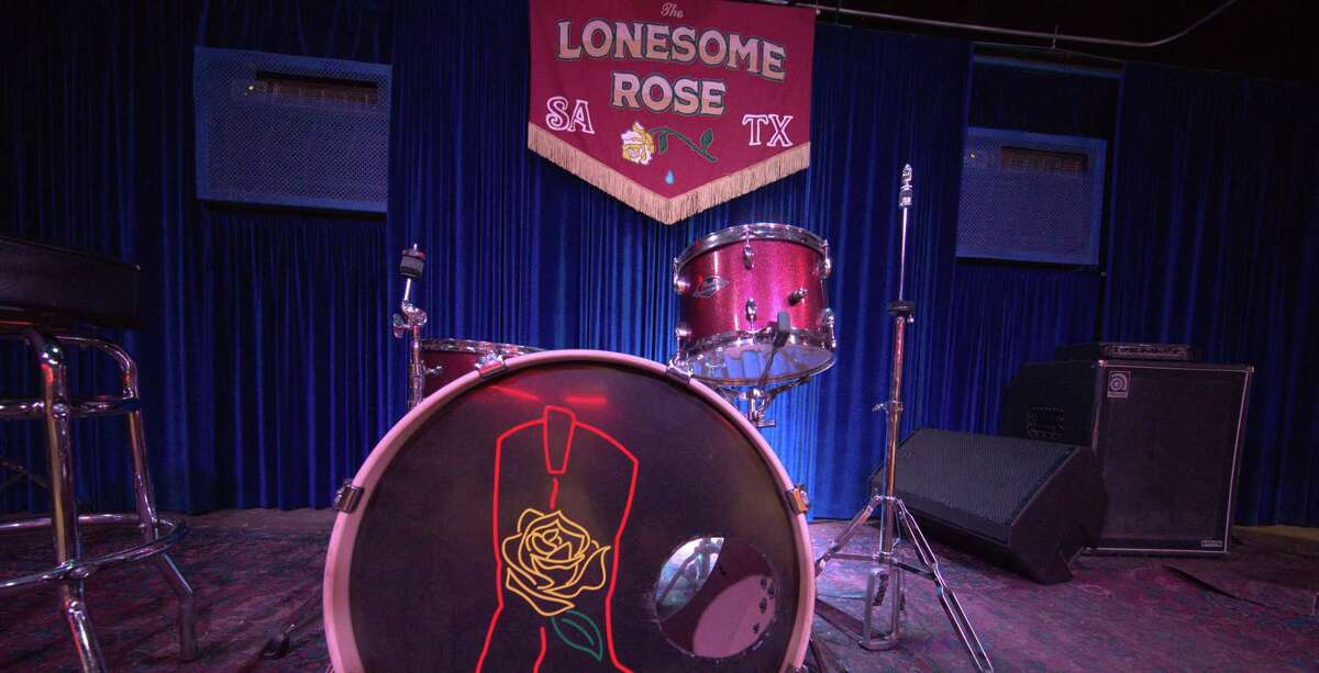 """The Lonesome Rose is one of the San Antonio venues featured in """"Bring Music Home,"""" a coffee table book that aims to depict the impact of the pandemic on performing arts spots across the country."""