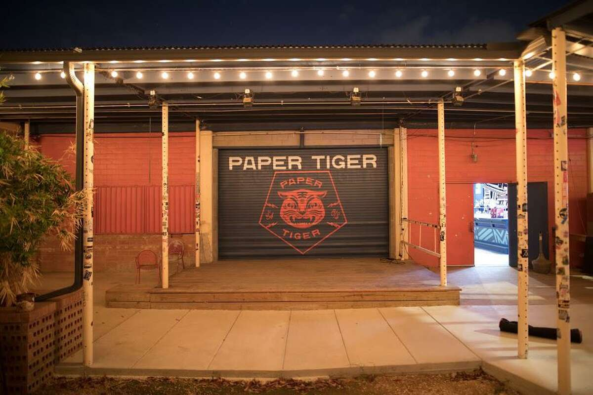 """The Paper Tiger is one of the San Antonio clubs depicted in """"Bring Music Home,"""" a coffee table book that depicts the impact of the pandemic on performing arts spots across the country."""