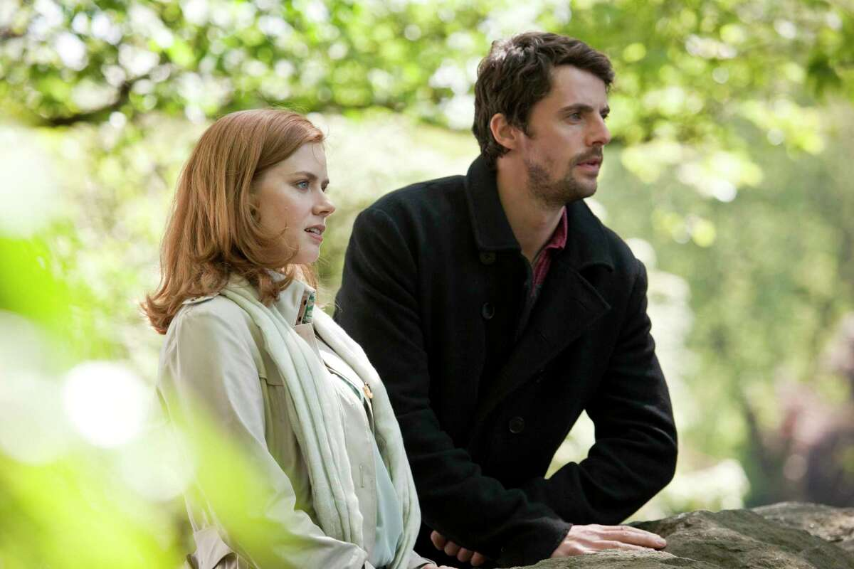 """Anna (Amy Adams) and Declan (Matthew Goode) take in the stunning beauty of the Irish countryside in """"Leap Year."""""""