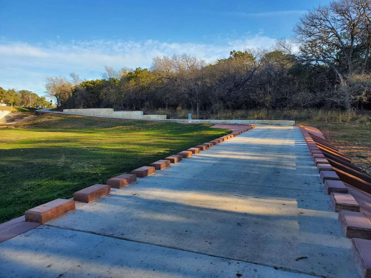 The city's parks and recreation department opened its new trail, Maverick Creek Greenway Trail, on Monday.