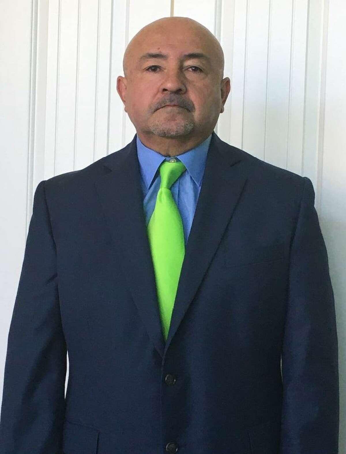 Spring ISD assistant director for athletics Armando Jacinto
