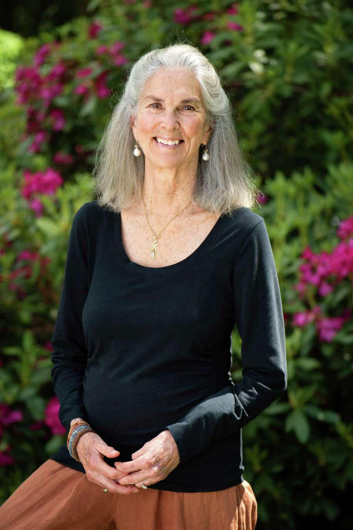 Margaret Gibson, Connecticut's poet laureate.
