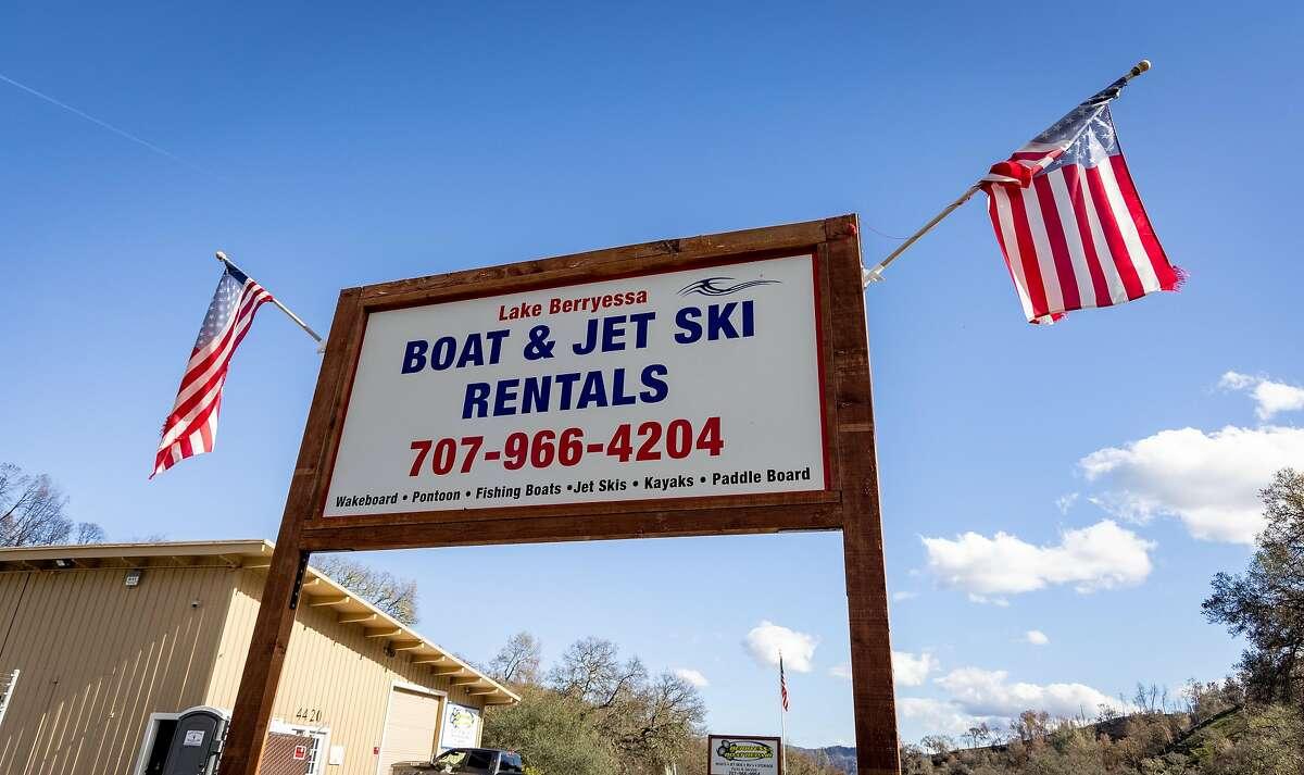 Berryessa Boat and Jet Ski Rental in Napa in open for business.