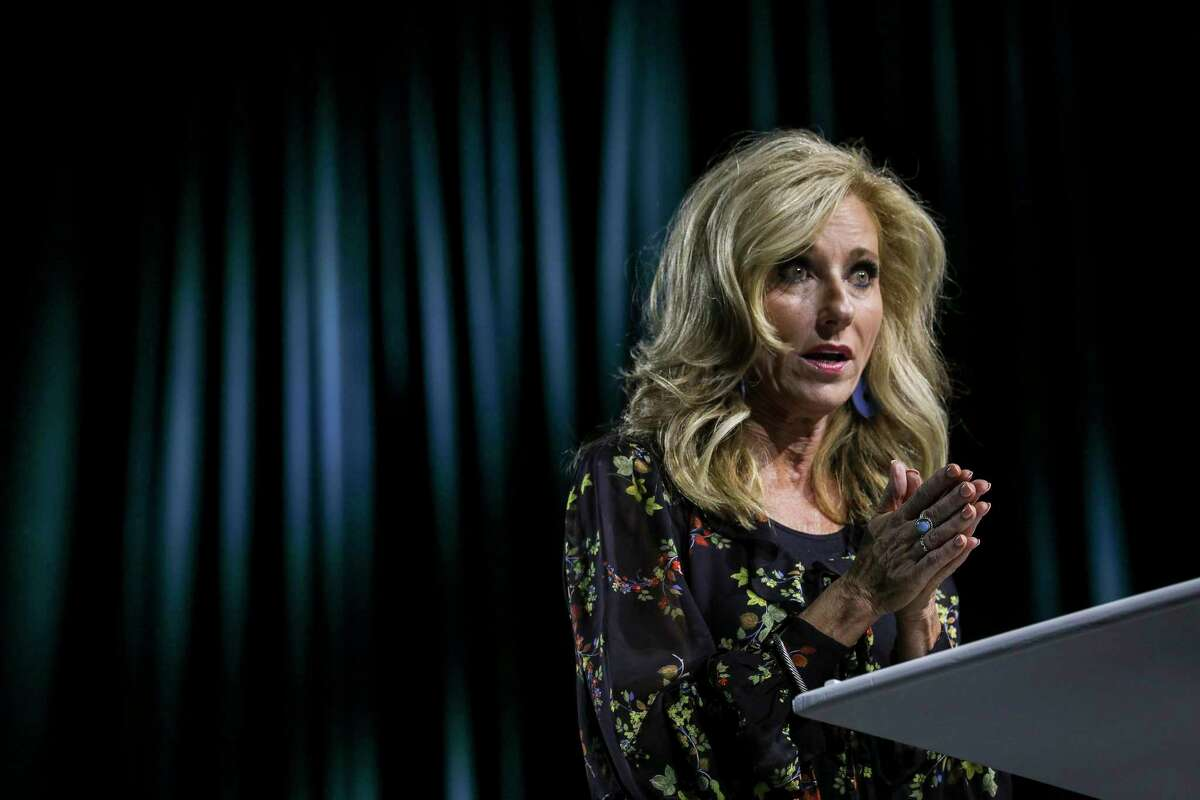 Beth Moore called for changing the roles of women in Southern Baptist churches during her speech at the Caring Well Conference on Thursday, Oct. 3, 2019, in Grapevine.