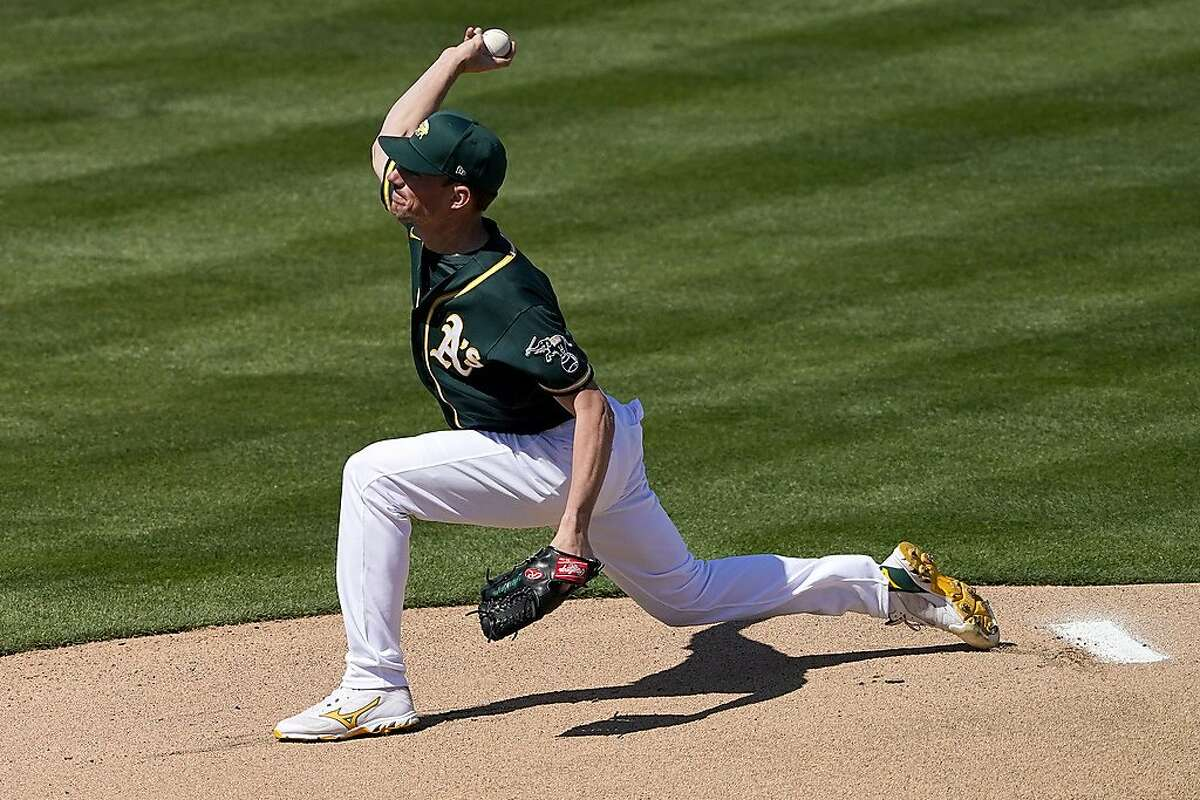 A's pitcher Chris Bassitt, with help from Jake Diekman and Sergio Romo, is working on a slider.
