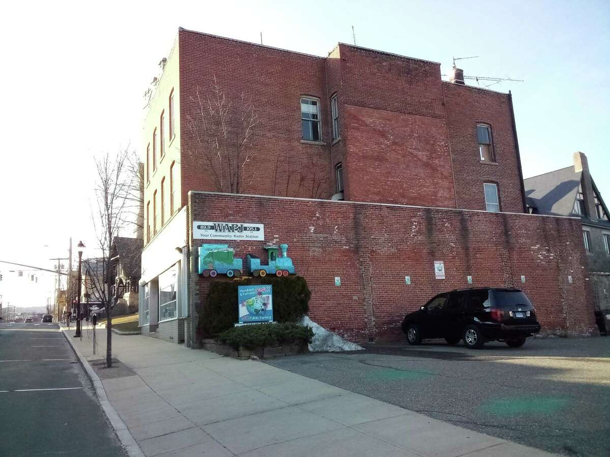 The Torrington mural project is going on the WAPJ building on Water Street.