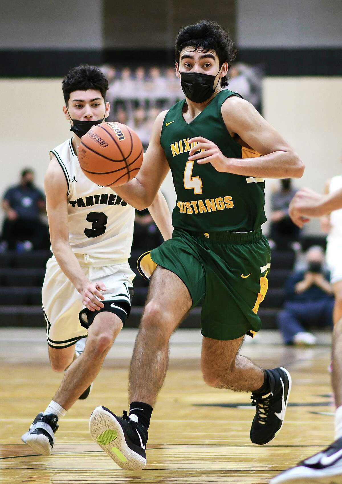 Nixon's Juan Marines, the District 30-6A co-Offensive Player of the Year, was named All-Region for the first time after averaging 17.4 points and 9.4 rebounds.