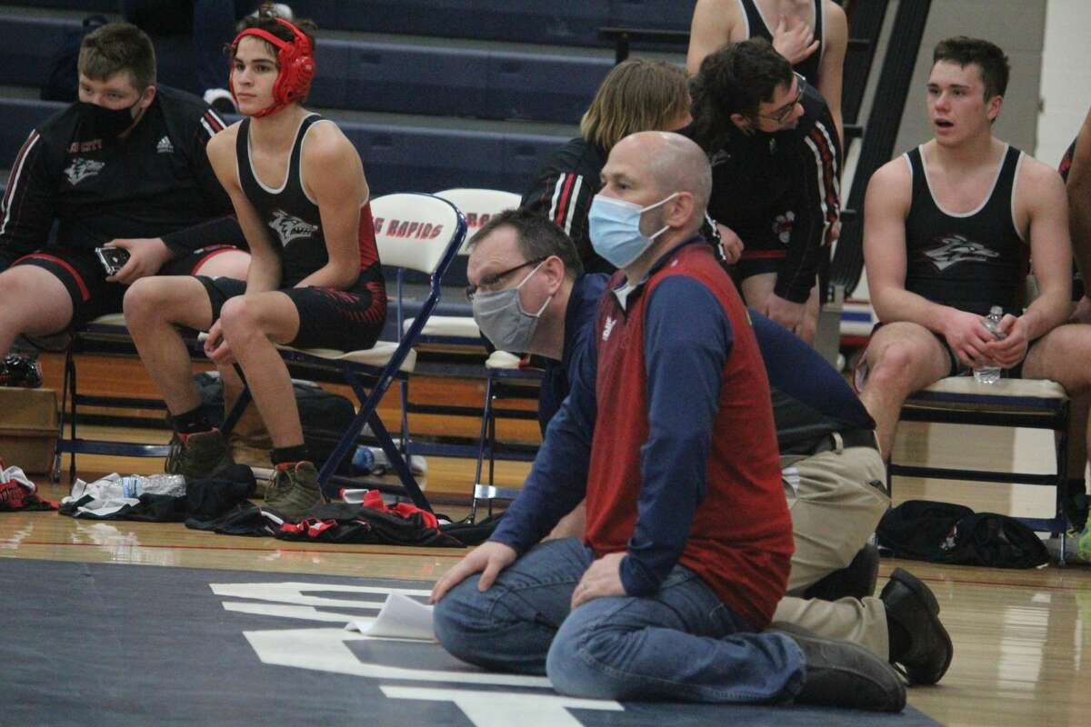 Reed City's wrestlers defeated Big Rapids 38-18 on Wednesday.