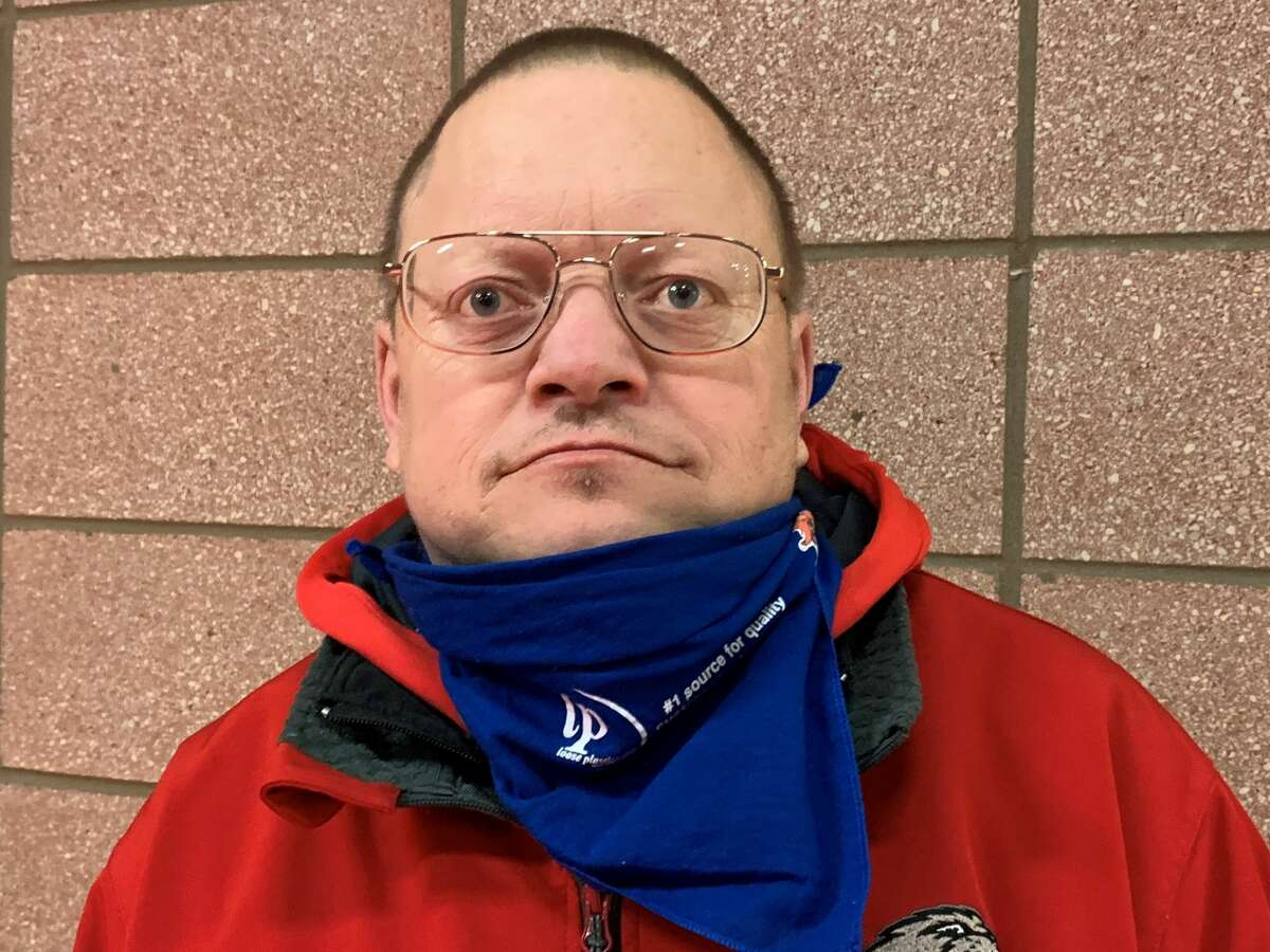 Allen Friday has been the equipment manager for Beaverton's boys' basketball team since 1995. He was inducted into the Beaverton Rural Schools Athletic Hall of Fame last year.