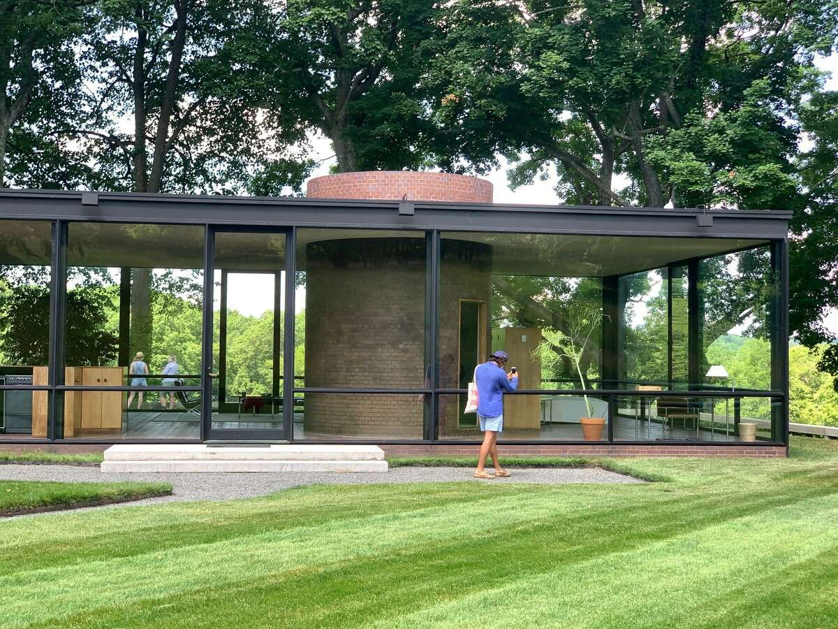 The Glass House will be open again after New Canaan Planning and Zoning Commission approved it plans. Photo contributed March 2021.