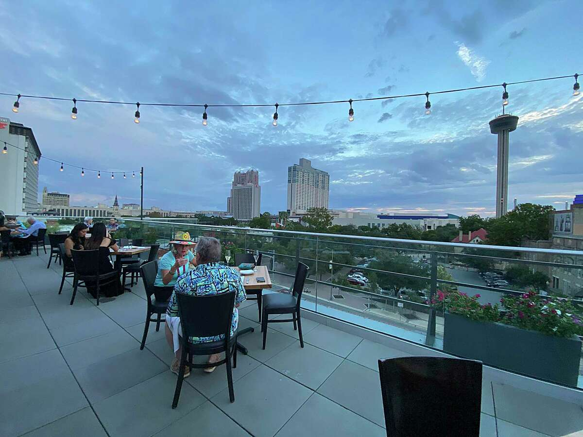 Fairmount Rooftop Oyster Bar opened in August at The Fairmount Hotel near downtown.