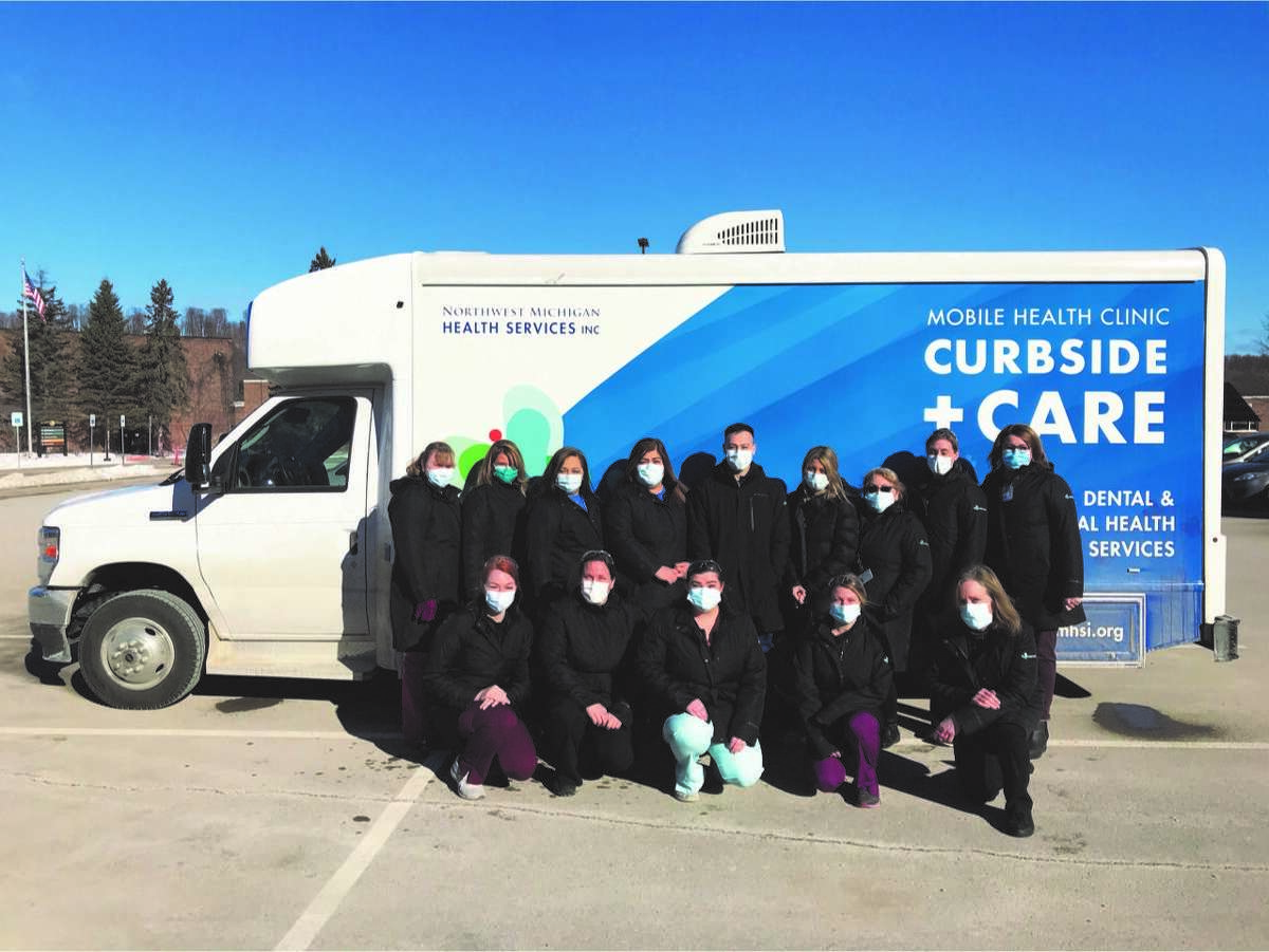 Northwest Michigan Health Services is taking its mobile COVID-19 vaccination clinic to vaccinate rural residents throughout northern Michigan.