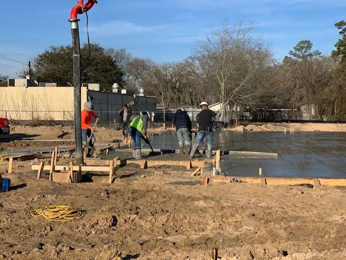 Cypress Assistance Ministries has begun construction of their new buildng and continues to receive donations