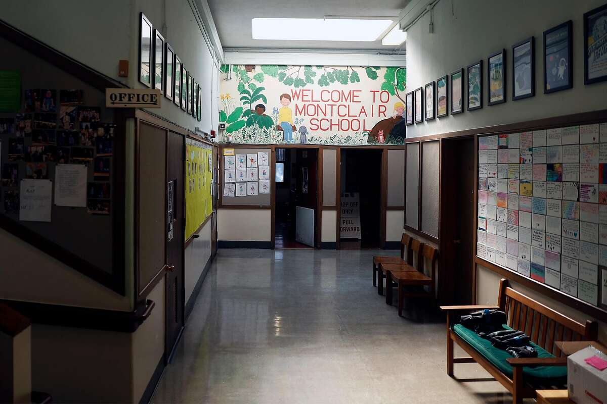 Montclair Elementary School in Oakland, Calif. Photographed on Monday, March 1, 2021.