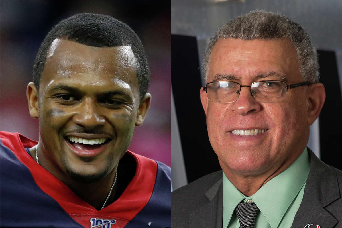 Coach David Culley reiterated on Thursday that the Texans remain committed to Deshaun Watson.