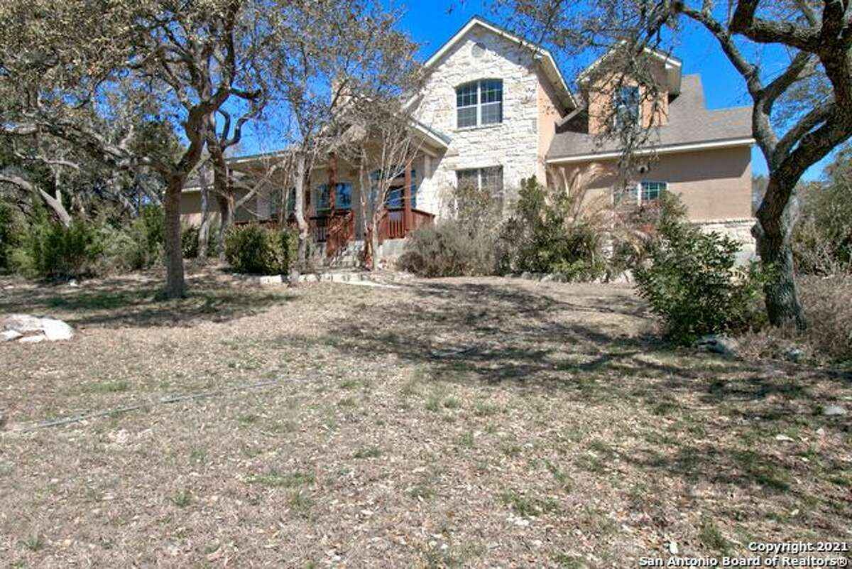 31418 Rustling Ridge Bulverde $540,000 This 4 bedroom, 3 bathroom home comes with 20 premium solar panels installed on the roof, according to the listing.