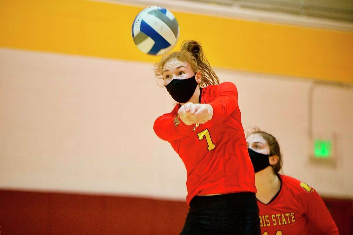 Katie O'Connell is in her senior season with Ferris State. (Courtesy photo/Ferris Athletics)