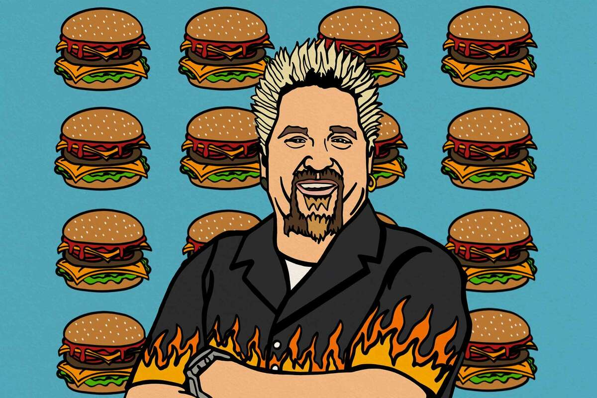 Guy Fieri hosts