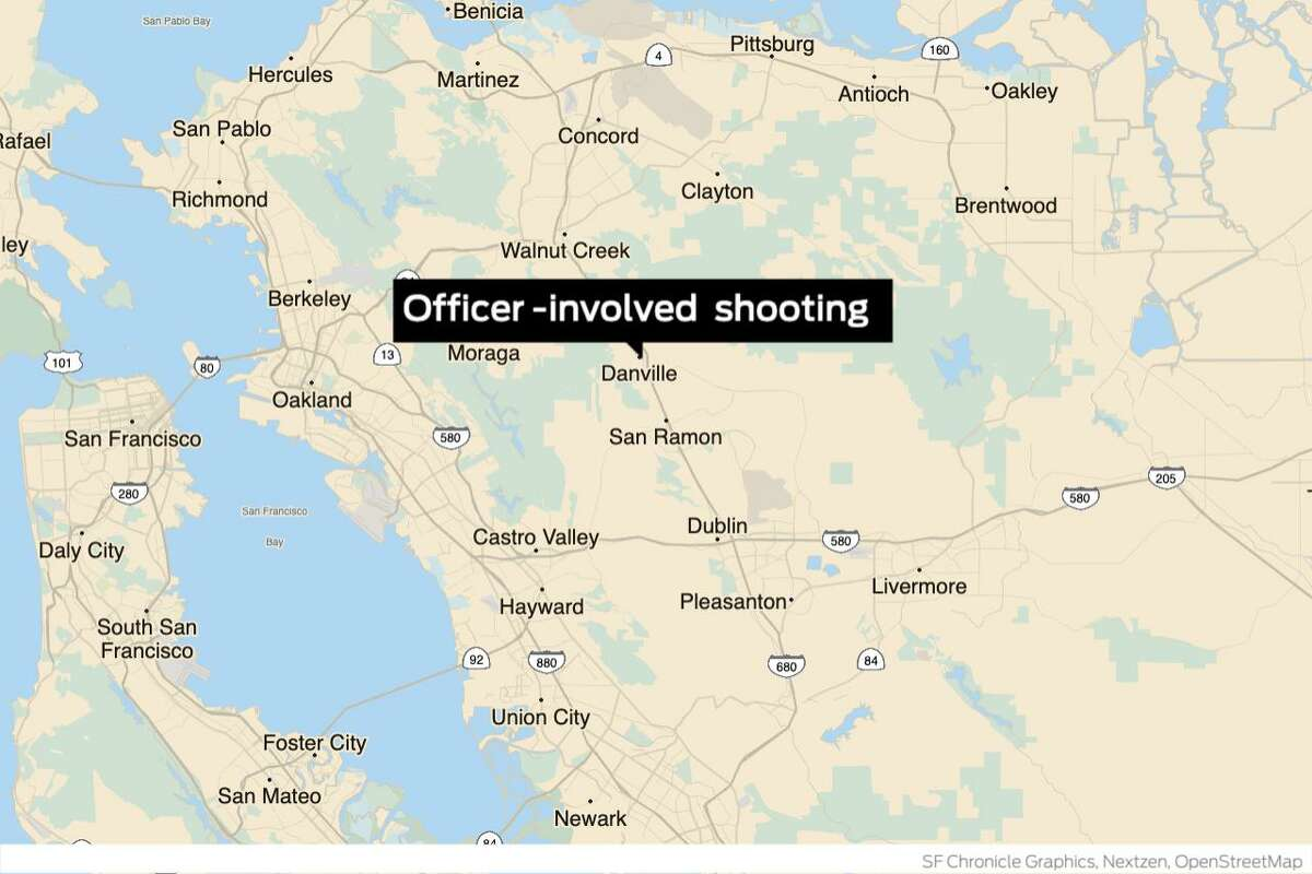 Danville officials are investigating an officer-involved shooting on Thursday in the area of Sycamore Valley Road and Camino Ramon, a Contra Costa County sheriff's department spokesman said.