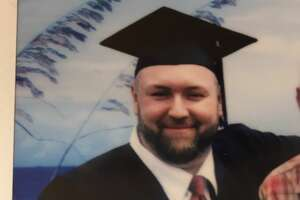 Chad Campbell receives his Associate degree from Bard College while serving 18 years to life in state prison for a 1990 double murder in Wayne County when he was 14-years-old. (Submitted photo)