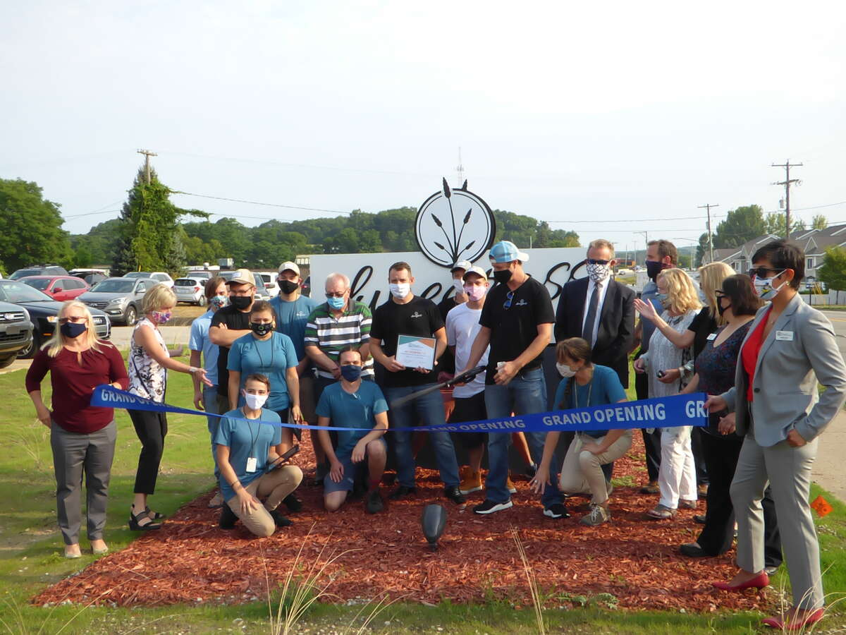 Dunegrass, Manistee's first marijuana retailer, generated $28,001.32 in tax revenue for the city in fiscal year 2020. A ribbon-cutting event for the store was held on Aug. 27, 2020.