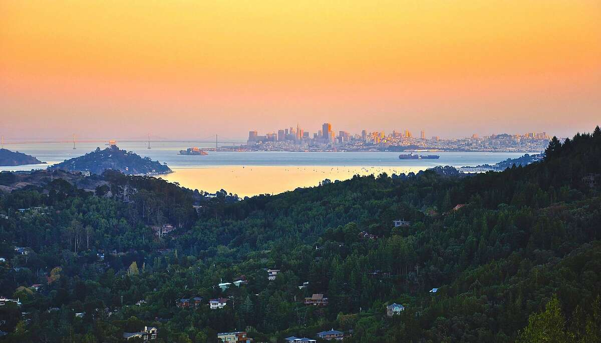 King Mountain Estate has views of downtown San Francisco, along with Mount Diablo, Mount Tam and the Marin Headlands.