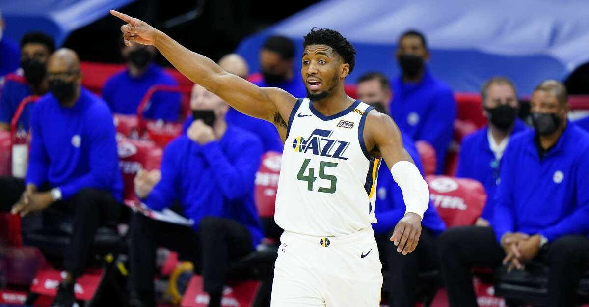 Donovan Mitchell and the Jazz were arguably the NBA's best team in 2020-21 but the regular-season success did not transfer to the playoffs.