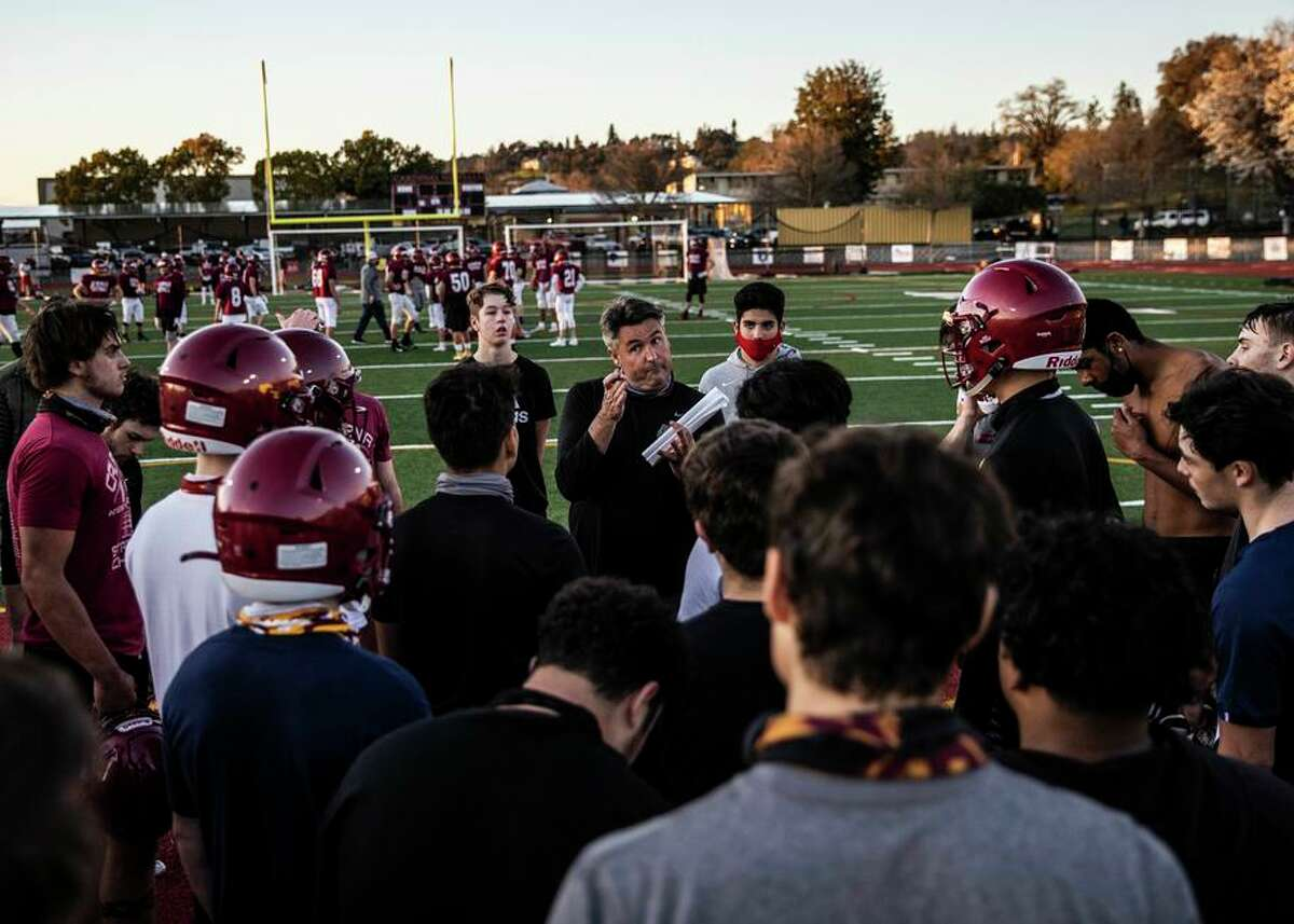 Paul Cronin, shown last year, coached at Cardinal Newman in Santa Rosa for 18 seasons before heading to Windsor.