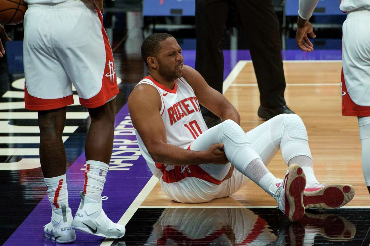 Eric Gordon's groin injury against Sacramento was the latest in a string of owsies for the Rockets this season.