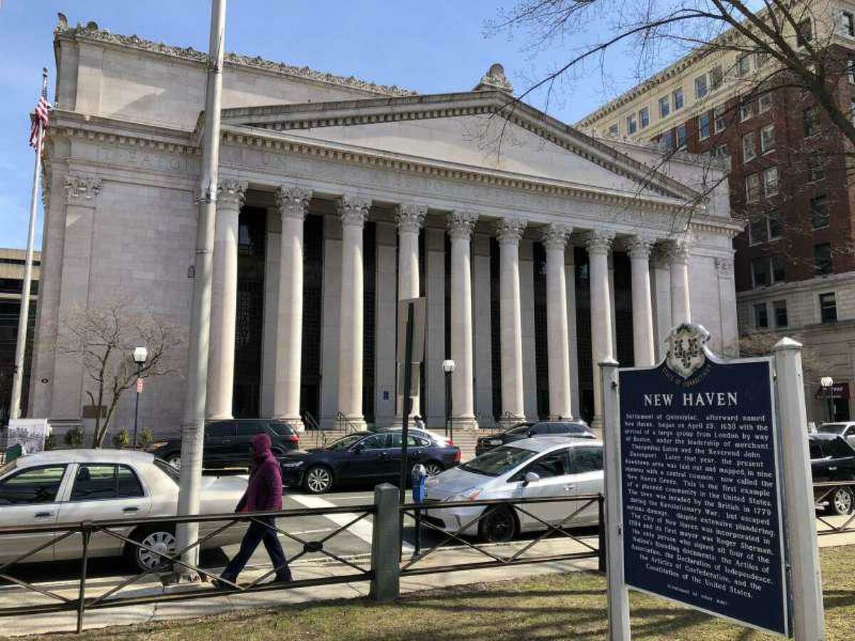 A file photo of the Richard C. Lee United States Courthouse, the home of U.S. District Court in New Haven, at 141 Church St.