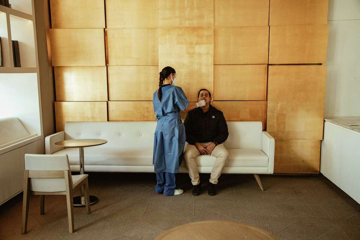 In response to a U.S. law that requires international arrivals to show proof of a negative coronavirus test, Meliá Hotels International set up test sites at 10 of its hotels in the Dominican Republic and Mexico.
