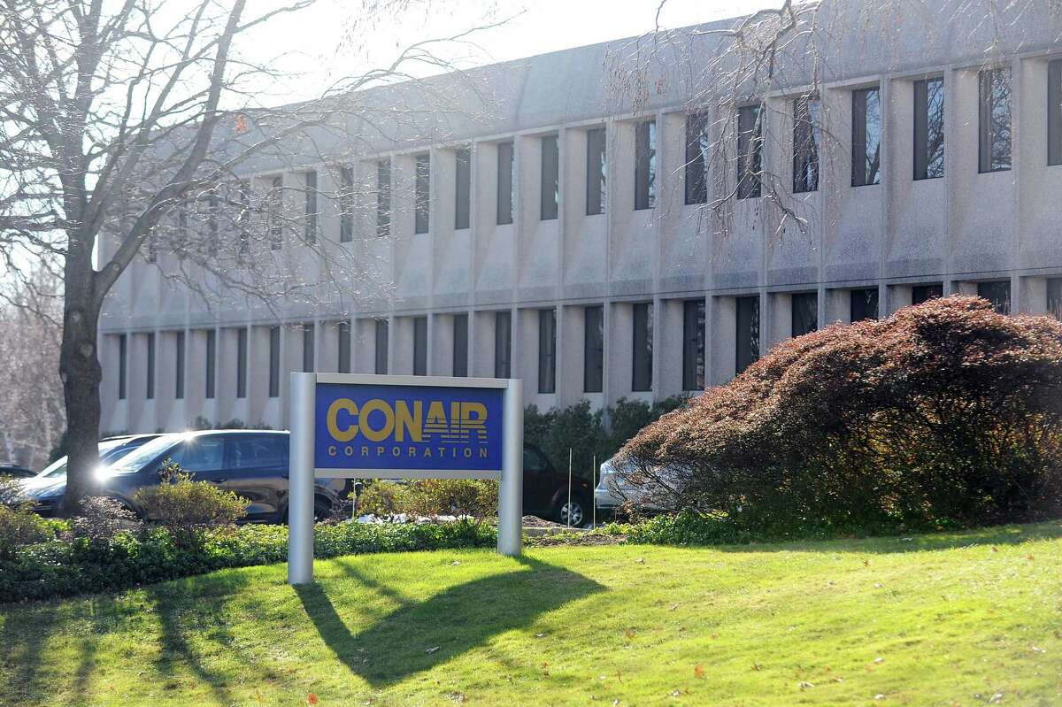 Conair Corp., has offices at 1 Cummings Point Road in Stamford, Conn. The company, known for products such as Conair hair dryers and Cuisinart food processors, has agreed to be acquired by Manhattan-based private equity firm American Securities.