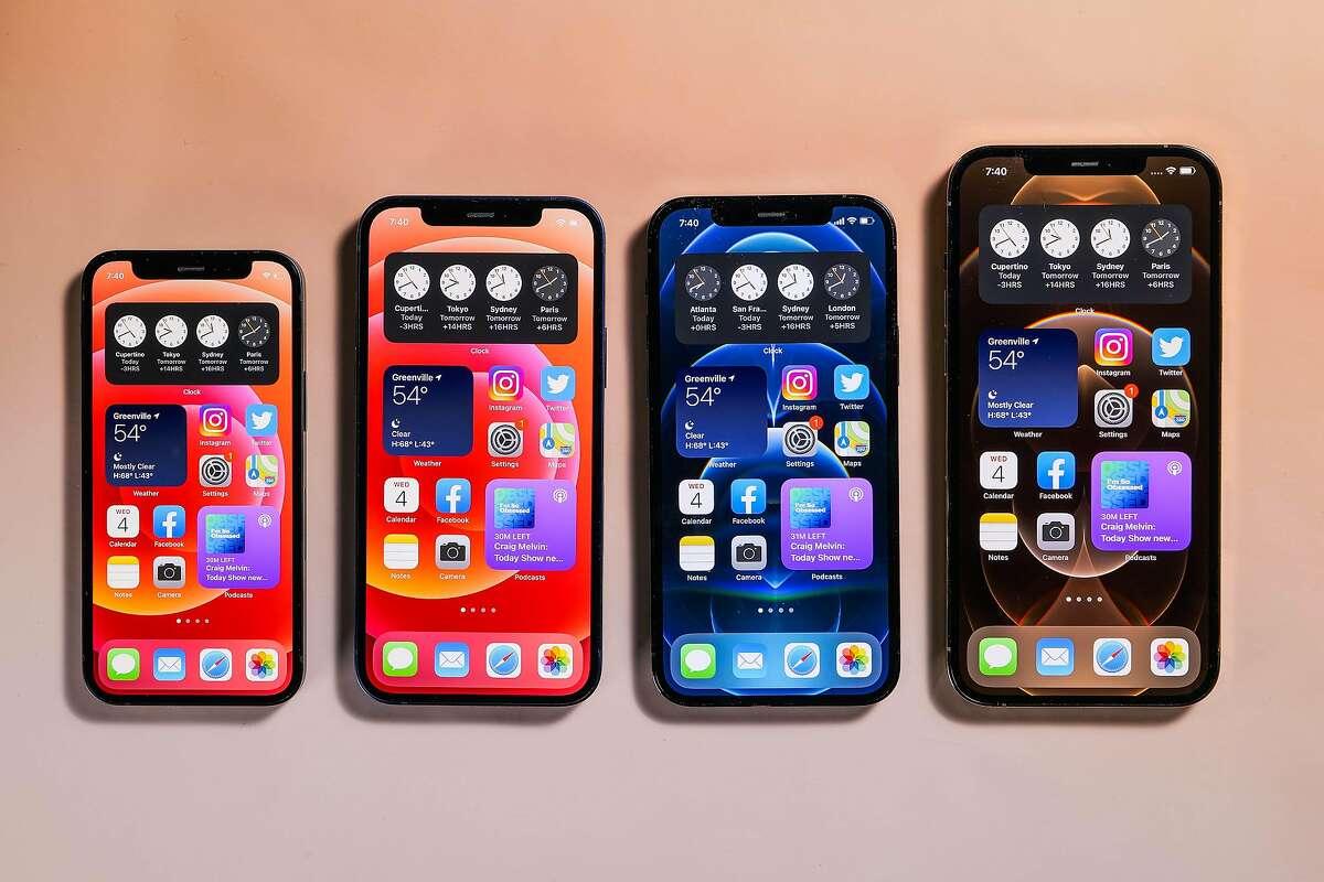 Apple iPhone 12, 12 Mini, 12 Pro and 12 Pro Max