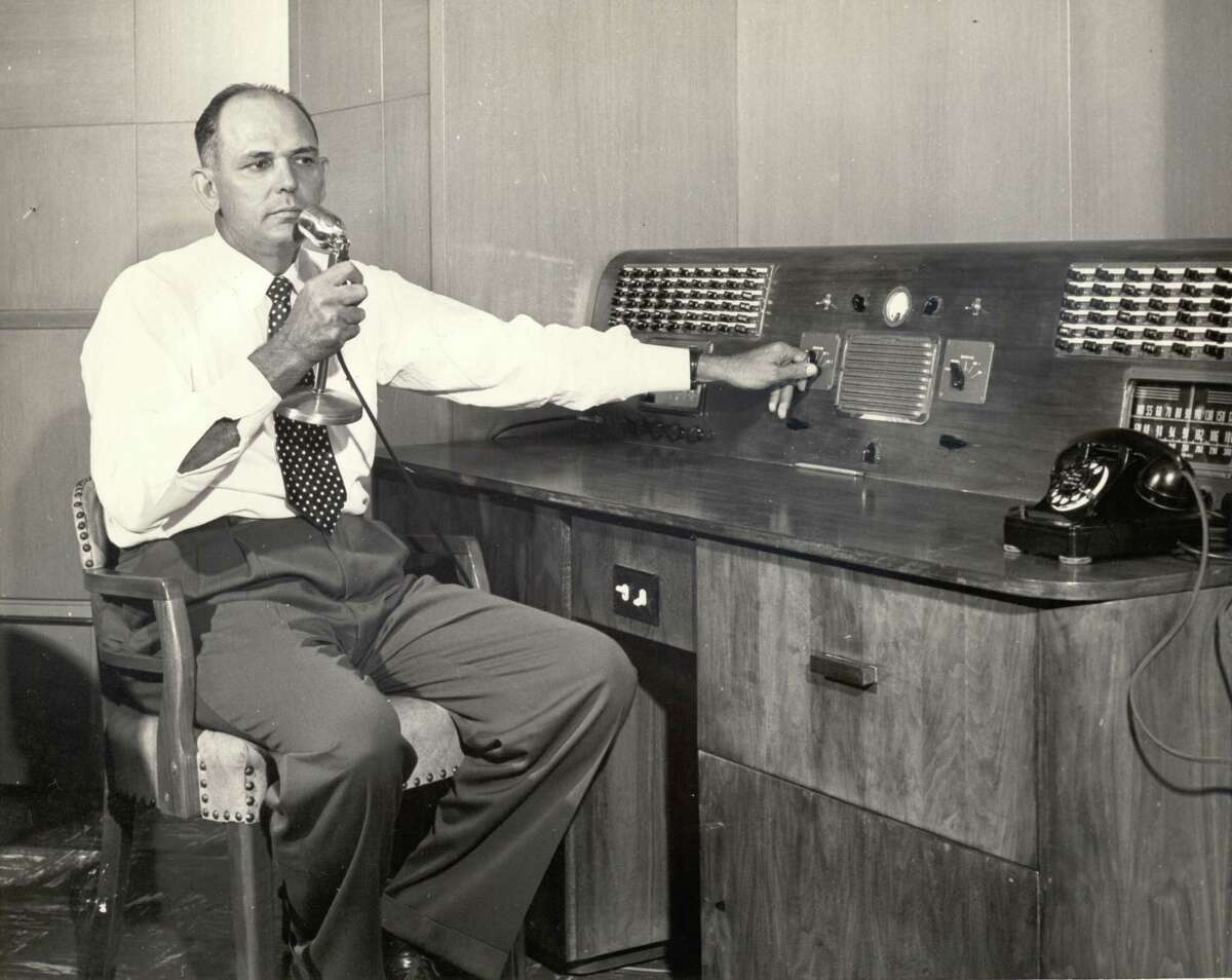 The Deer Park Independent School District is accepting nominations for the Felton F. Waggoner Hall of Honor. Waggoner, shown making the morning announcements at Deer Park High School in 1955, was Deer Park's high school principal from 1950 until his retirement in 1973. The hall of honor is an annual event recognizing former Deer Park High School graduates who have excelled in their field of expertise and made significant community contributions.