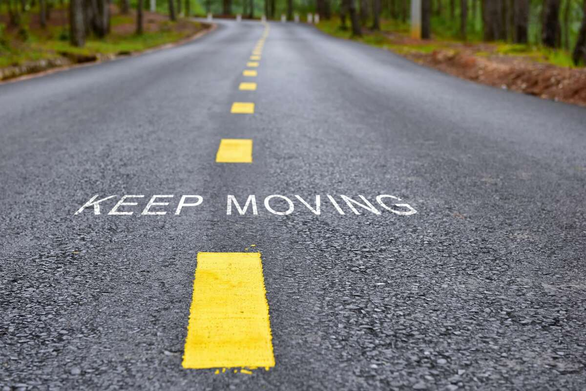 Keep moving forward in spite of the current situation. It could be worse. - Latasha G.
