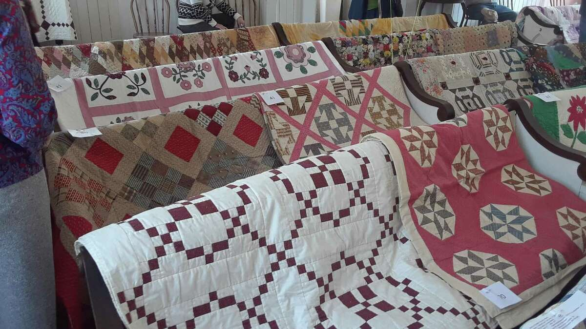 The Haddam Neck Congregational Church will hold the 32nd Annual Quilt Show on Saturday, May 8, from 10 a.m. to 5 p.m. and Sunday, May 9, from 12 to 5 p.m. at the scenic 19th century Haddam Neck Congregational Church, 408 Quarry Hill Road, Haddam Neck
