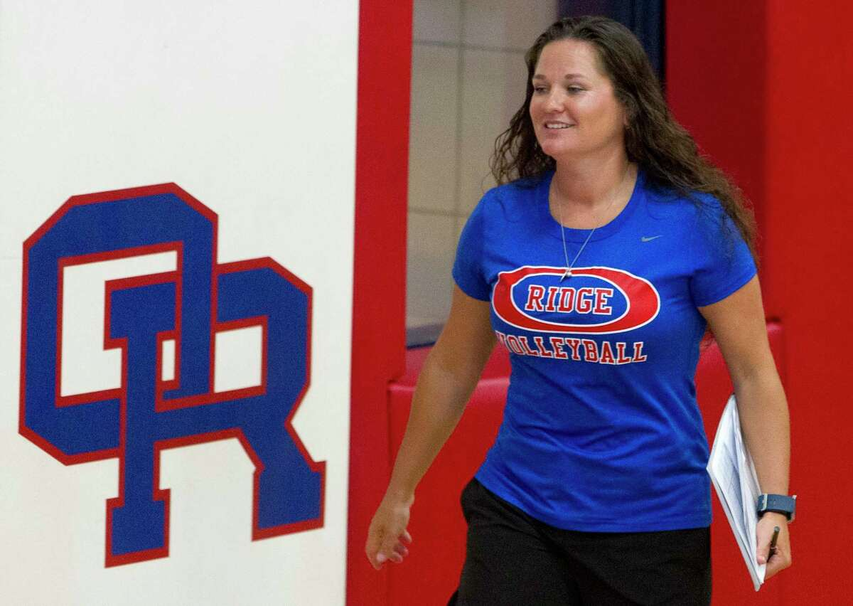 Tommie Lynne Sledge, seen here in 2017, is back coaching at Oak Ridge High School after three years of opening and leading the program at Lake Creek.