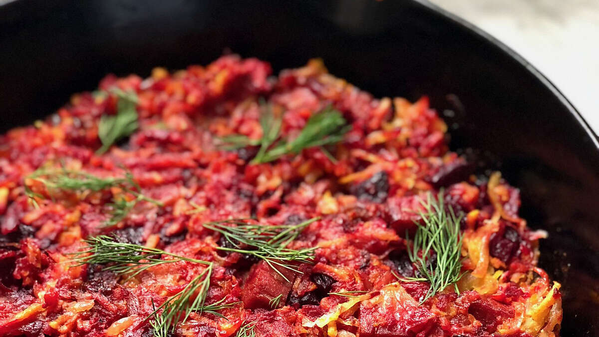 Hash is an any-time-of-year recipe, but it makes sense to try it now, when you might soon have leftover corned beef from a St. Patrick's Day feast.