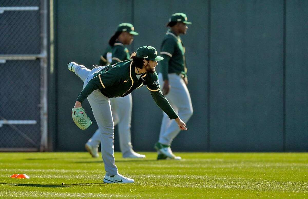Oakland left-hander Sean Manaea will make his 2021 Cactus League debut Saturday when the A's face the Reds.