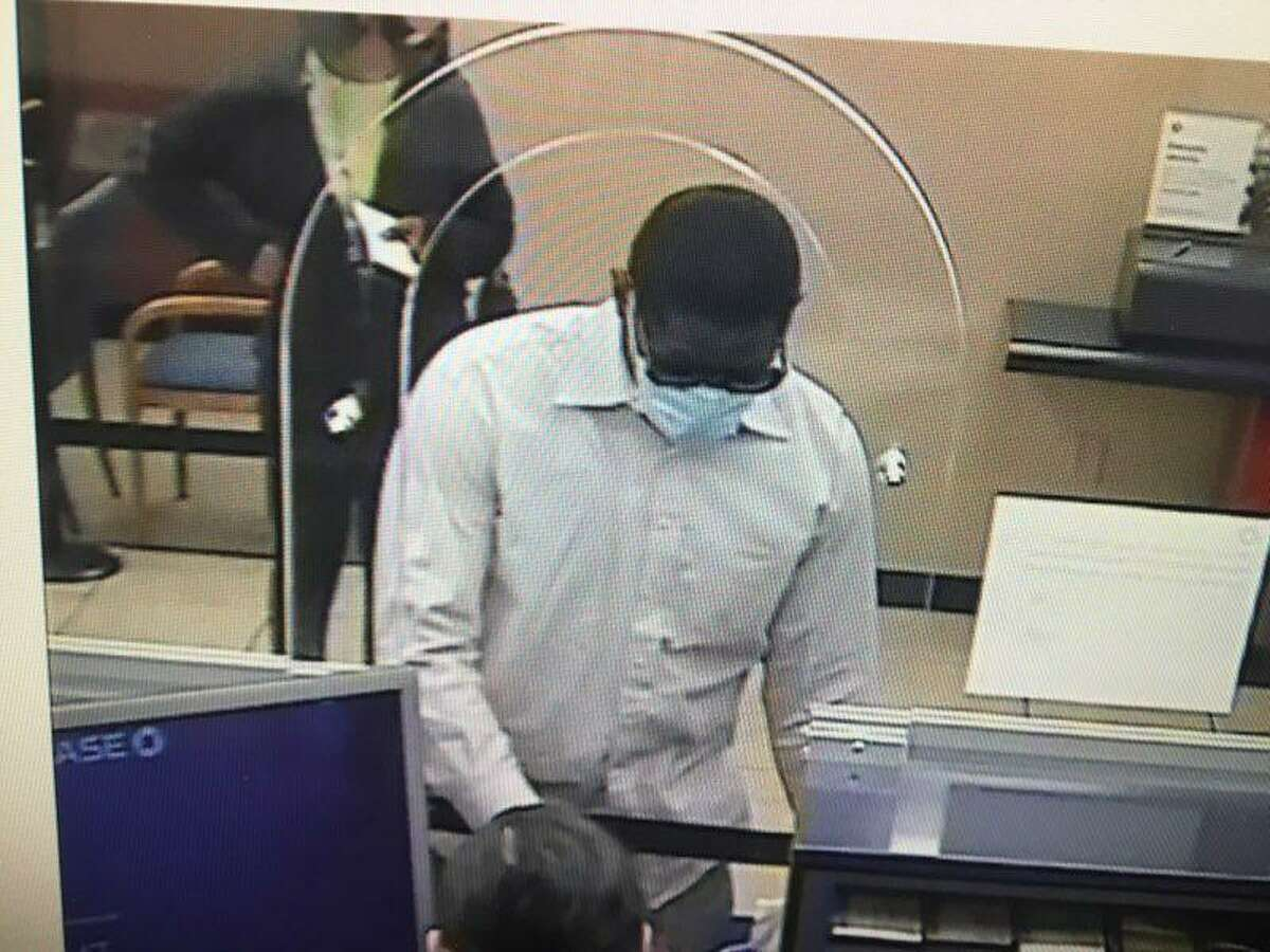 BRIDGEPORT, Conn. - Police are asking for the public's assistance identifying this man, believed to have been involved in a robbery at the Chase Bank on Main Street Friday, March 12, 2021.