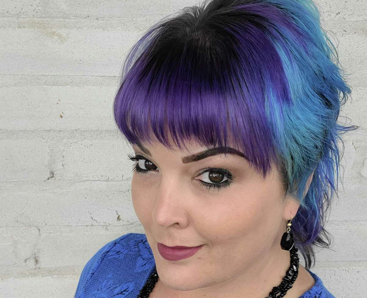 San Antonio stylist Chesney Blue recently gave herself a mullet, which she called a crazy cut for a crazy year.