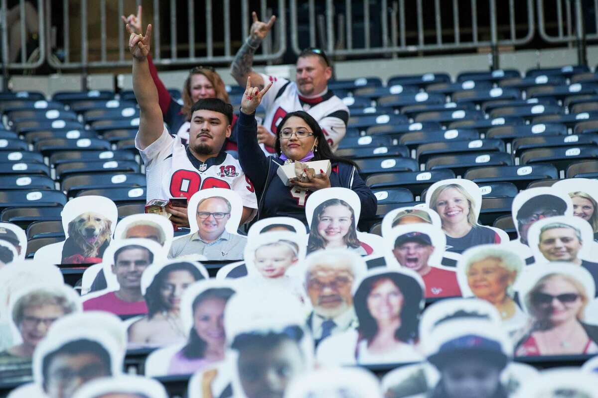 Texans fans, real and cardboard cutouts, may not have much to cheer for in the short-term.