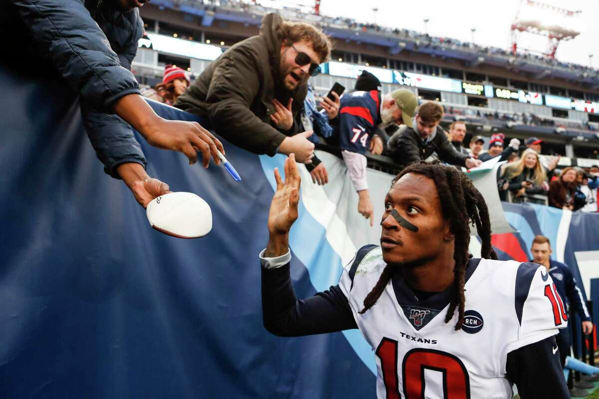 Texans fans didn't expect they would be saying goodbye to DeAndre Hopkins a year ago.