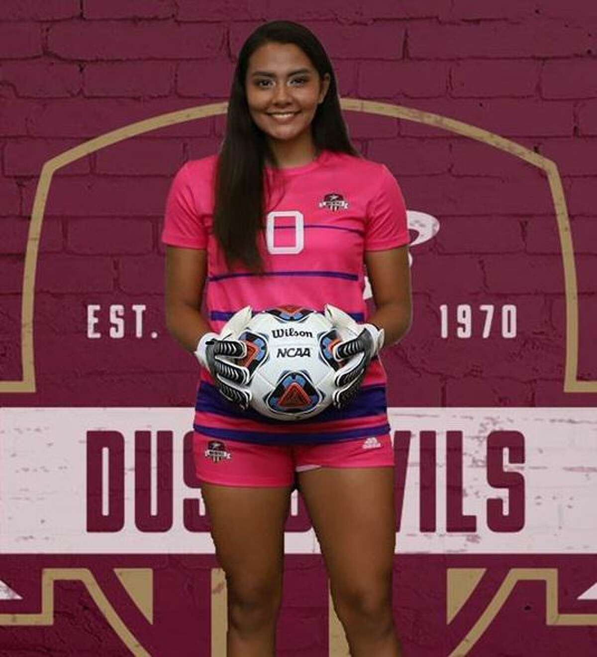 TAMIU freshman Alicia Huerta was named the Lone Star Conference Goalkeeper of the Week after stopping all 10 shots on goal in her first collegiate action.