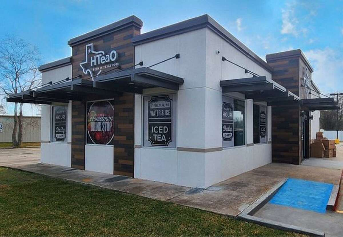 HTeaO, a new tea shop open in Tomball, owned and operated by Billy and Kailey Moore.