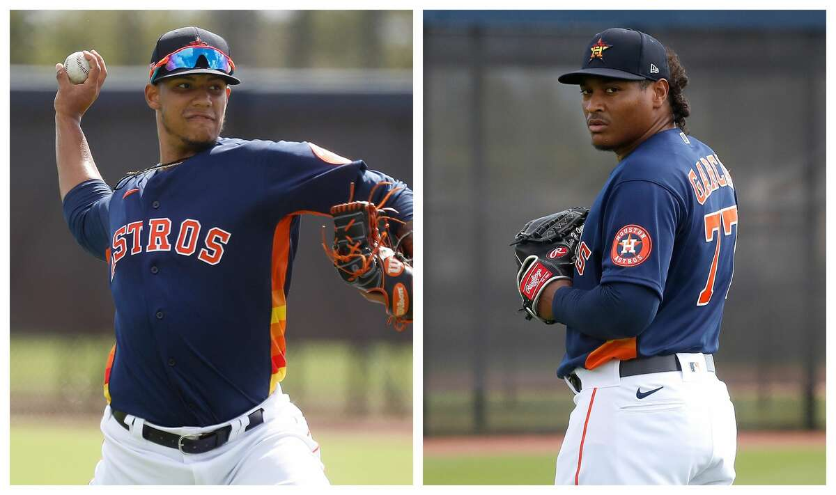 Both Bryan Abreu and Luis Garcia returned to live action during the Astros' B game on Saturday against the Washington Nationals.