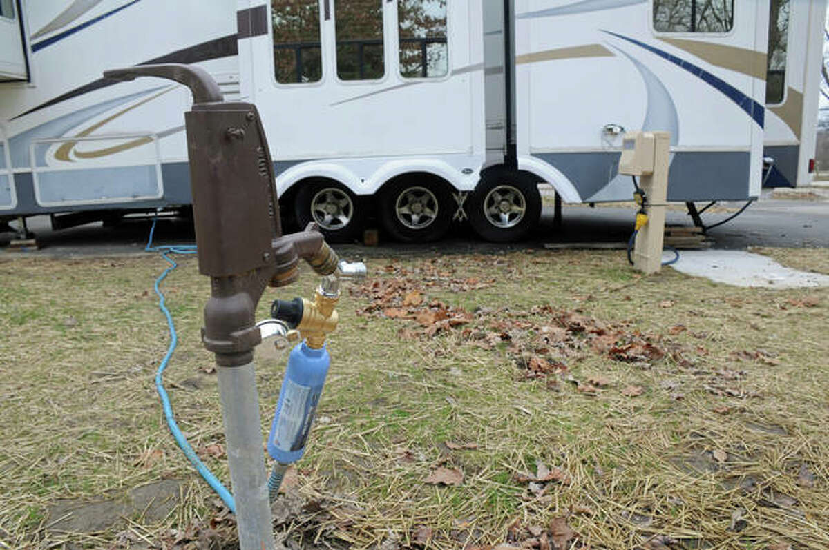 A $1.9 million upgrade at Pere Marquette State Park awaits users of its 80-site camping facility when it reopens April 15. The work included upgraded electrical and water service, improved camping pads, easier access and even a better way to make reservations.
