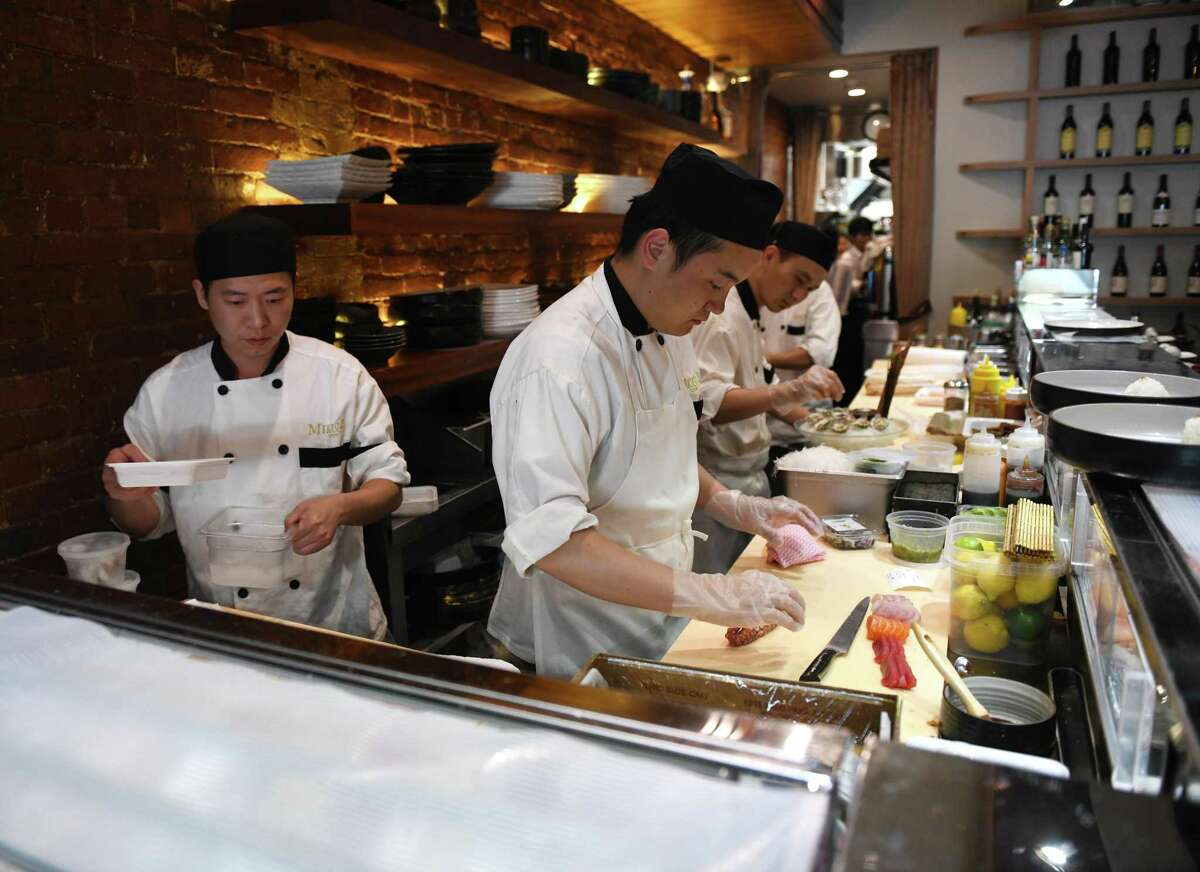 MIKU sushi has started offering help again for local organizations through special menu items every month.