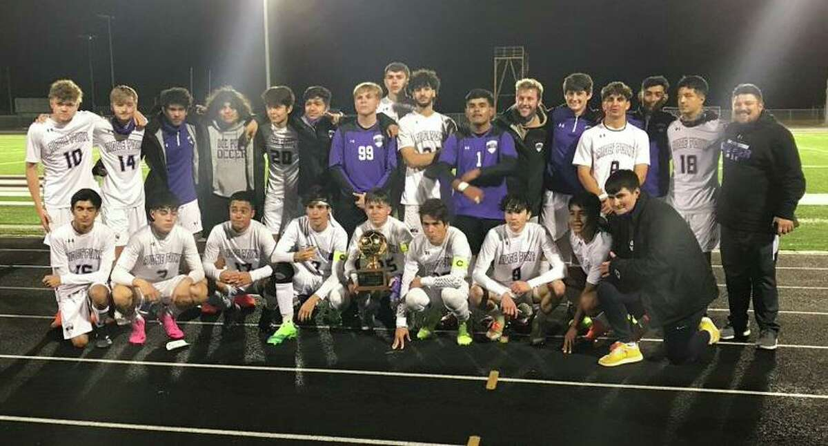The Ridge Point soccer team finished a perfect run through District 20-6A with a 22-0-0 overall record, setting the school record with 15 shutouts. The Panthers take the No. 1 seed from 20-6A into the playoffs.