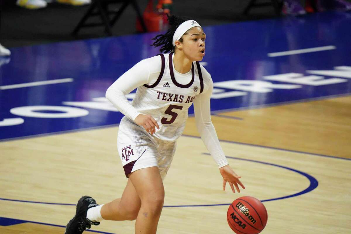 Jordan Nixon and Texas A&M won the SEC regular-season title before losing in the SEC tournament semifinals. The Aggies are expected to be a No. 1 seed for the NCAA Tournament.